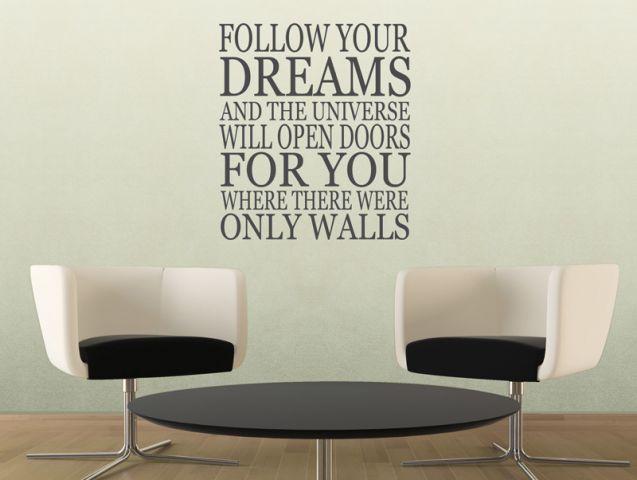 תלך אחרי החלומות שלך