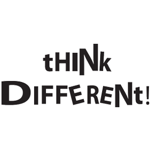 !THINK DIFFERENT
